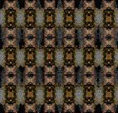 花纹花样在无缝的布料,织品, backgrou的纹理设计 免版税库存照片