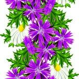 花纹花样无缝的向量 库存照片