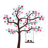 花结构树 库存图片