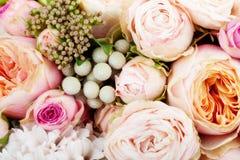 花美丽的花束  免版税库存照片