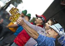 花花公子的Oktoberfest 2012年 免版税库存照片