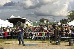 花花公子的Oktoberfest 2012年 免版税库存图片