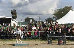 花花公子的Oktoberfest 2012年 库存图片