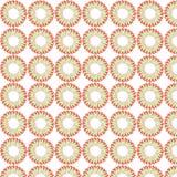花花卉盖子瓦片织品样式背景传染媒介例证设计摘要墙纸 图库摄影