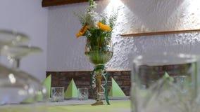 花花束在花瓶001的 库存照片
