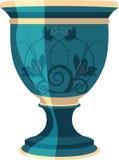 花花盆例证花瓶向量 库存图片