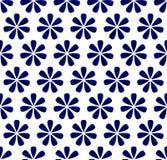 花蓝色样式 免版税图库摄影
