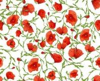 花装饰无缝的背景 库存照片