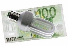 花费能源 免版税库存图片