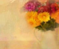 花,与文本的空间。 库存照片
