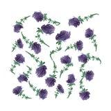 花,传染媒介例证 库存图片