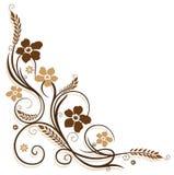 花,背景 免版税图库摄影