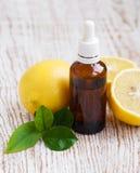 芳香疗法柠檬 库存图片