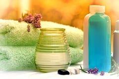 芳香疗法-温泉治疗 免版税库存照片