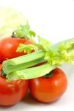 芹菜收集蔬菜 免版税库存图片