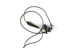 芽耳朵耳机 免版税库存图片