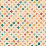 苍白抽象样式的三叶草 库存照片
