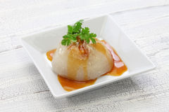 苍白的Ba, bawan,台湾兆饺子 图库摄影