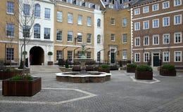 苍鹭正方形,伦敦 库存图片