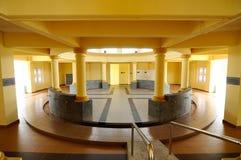 苏丹伊斯梅尔清真寺的洗净液在Muar,柔佛州,马来西亚 免版税库存照片