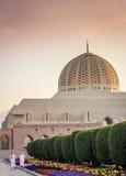 苏丹卡布斯清真寺-马斯喀特,阿曼 免版税库存照片