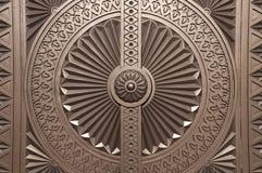 苏丹卡布斯盛大清真寺的Windows,阿曼 库存照片