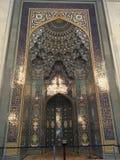 苏丹卡布斯盛大清真寺,Â马斯喀特,阿曼 库存照片