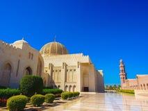 苏丹卡布斯盛大清真寺 库存照片
