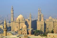 苏丹哈桑和Rifai清真寺 库存照片