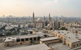 苏丹哈桑清真寺在开罗,埃及非洲 免版税库存照片