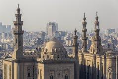 苏丹哈桑清真寺在开罗 免版税图库摄影