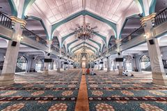 苏丹清真寺在新加坡市 免版税图库摄影