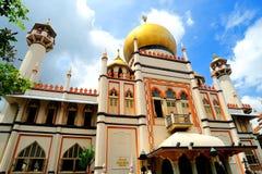 苏丹清真寺,新加坡。 库存照片