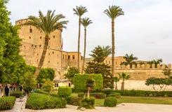 苏丹萨拉丁AlAyyuby城堡在开罗 库存图片