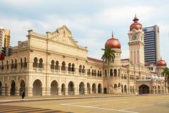 苏丹阿卜杜勒萨玛德修造(吉隆坡,马来西亚) 库存照片