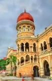 苏丹阿卜杜勒萨玛德大厦在吉隆坡 修造,在1897年它现在安置信息部办公室 马来西亚 免版税库存照片