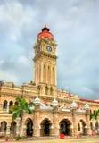 苏丹阿卜杜勒萨玛德大厦在吉隆坡 修造,在1897年它现在安置信息部办公室 马来西亚 库存照片