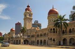 苏丹阿卜杜勒萨玛德大厦在吉隆坡 免版税库存图片