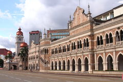 苏丹阿卜杜勒建立马来西亚的萨玛德 图库摄影