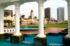 苏丹阿卜杜勒Samad大厦 库存照片