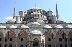 苏丹阿哈迈德清真寺在伊斯坦布尔 库存照片