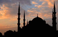 苏丹阿哈迈德清真寺, 图库摄影