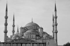 苏丹阿哈迈德清真寺(蓝色清真寺) 免版税图库摄影