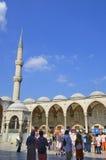 苏丹阿哈迈德清真寺 免版税库存图片