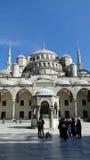 苏丹ahmet蓝色清真寺,火鸡的伊斯坦布尔 库存照片