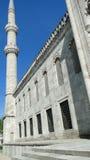 苏丹Ahmet -蓝色清真寺,火鸡的伊斯坦布尔 免版税库存图片