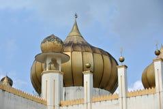 苏丹Mahmud清真寺圆顶在瓜拉Lipis,彭亨 图库摄影
