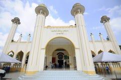 苏丹Mahmud清真寺在瓜拉Lipis,彭亨 图库摄影