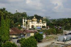 苏丹Mahmud清真寺在瓜拉Lipis,彭亨 库存图片