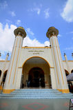 苏丹Mahmud清真寺在瓜拉Lipis,彭亨 免版税库存照片